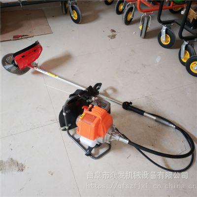 软管汽油割草机 背负式除草机价格 斜跨式割草机设备