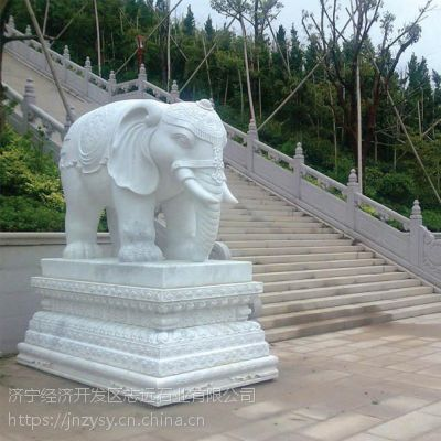嘉祥动物石雕大象的祥瑞作用