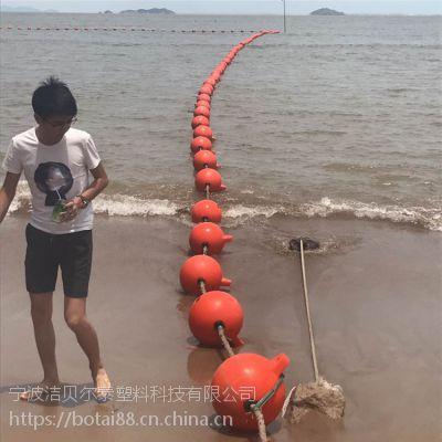 水上红色塑料警示浮球价格