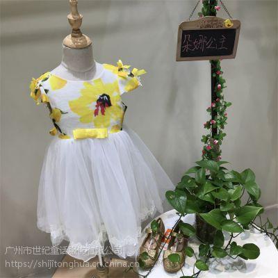 汕头朵娜公主网上童装批发女童公主裙