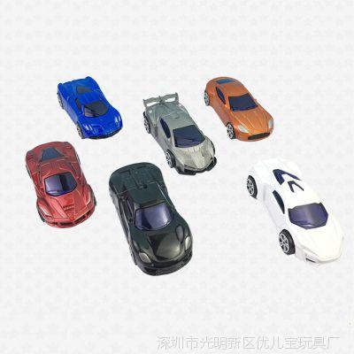 新款儿童玩具模型车1:64迷你仿真合金车模玩具批发赠品地摊热卖