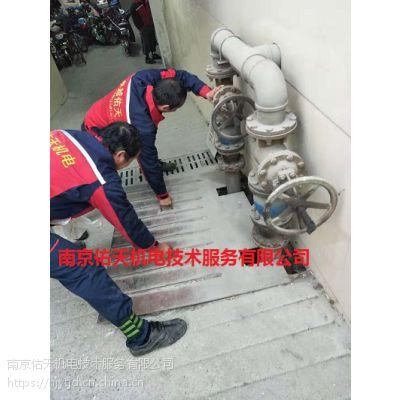南京学校地下室排污泵年度保养检修
