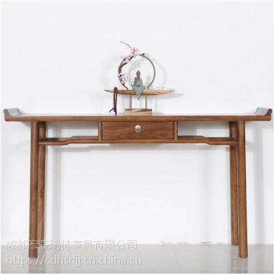 定制罗汉床家具 成都家具厂家定制中式家具
