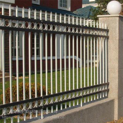 开发区围墙护栏 市政隔离栏价格 铁艺围墙护栏