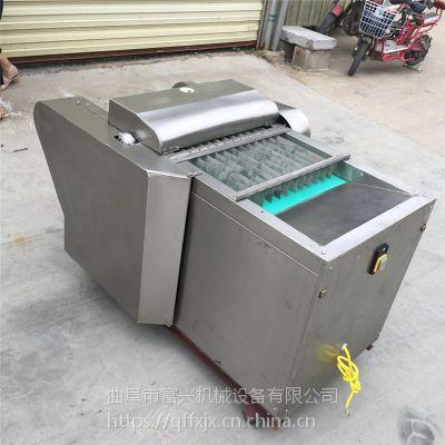 富兴腐竹加工切段机 粗细均匀的海带切丝机 多功能豆角切丁机图片