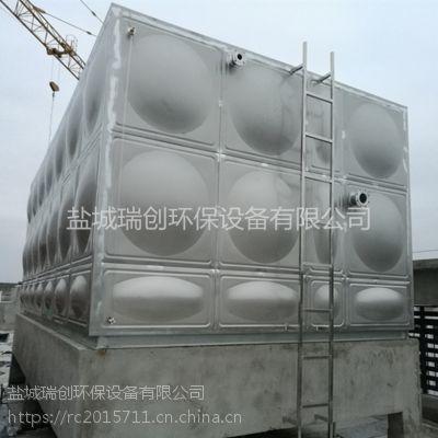 厂家直销不锈钢组合水箱 定制容量 25吨消防专用组合式供水设备