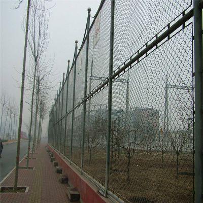 学校防护围网 运动场围栏 羽毛球场护栏网