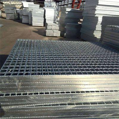 现货钢格板厂家 水沟盖板多少钱 脚踏平台钢格板规格
