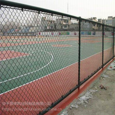 勾花框架护栏网厂家 主要用于体育场围网