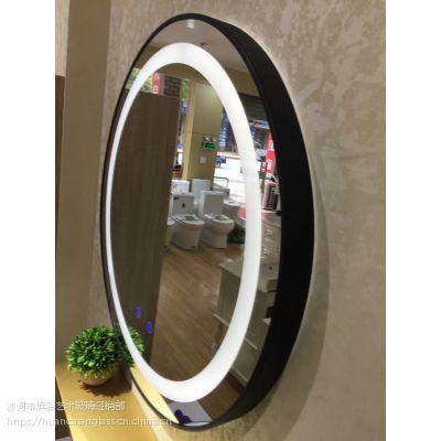 内蒙古呼伦贝尔厂家定制 出口高端酒店工程时尚LED灯镜
