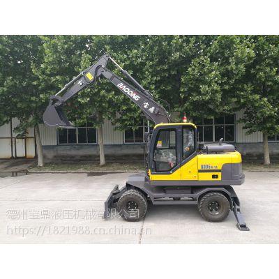 BD95W-9A山地轮式挖掘设备销售