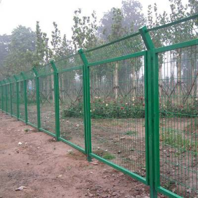 三角折弯护栏 茂名镀锌钢丝网围栏 边框栏网