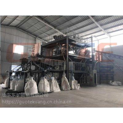 潍坊国特拉管砂生产线