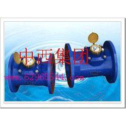 中西(LQS现货)可拆卸水平螺翼式水表 型号:LYG10-LXLC-150库号:M289926