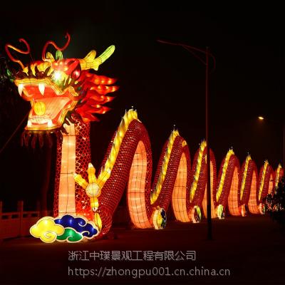 中璞花灯厂家承接大型节日灯会彩灯设计制作