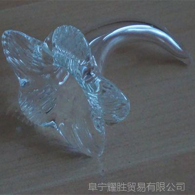 喇叭花 水晶喇叭花 玻璃喇叭花 喇叭花灯具配件 喇叭花灯饰
