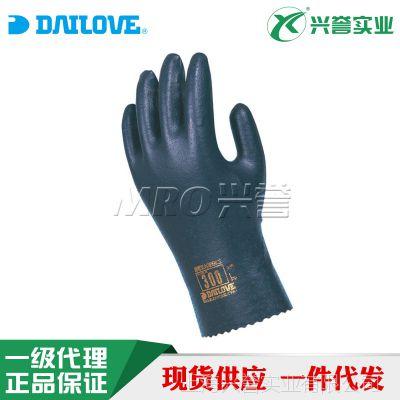 DAILOVE 300防化防静电手套 PU聚氨酯涂层 100%纯棉+导电纤维