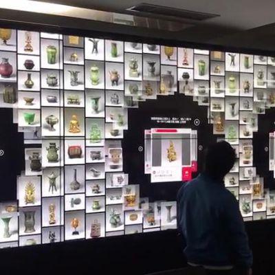 魔幻互动墙 数字互动墙 大屏地面墙面多点的触碰展示体验(软件可定制)