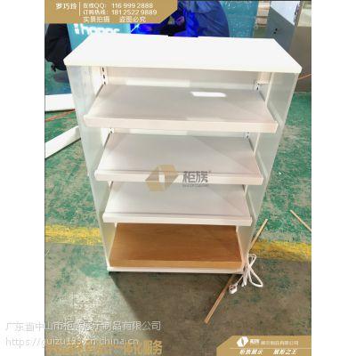 小米3.0体验店综合层板展示柜定制_收银台体验台背柜中岛配件柜电视背柜生产厂家