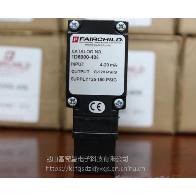 美国 FAIRCHILD 仙童电动-气动 I-P 气动转换器TT6000-426U