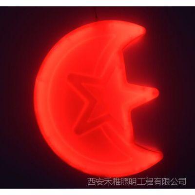 平凉节日装饰LED星星灯批发供应