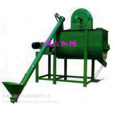 草粉饲料牛饲料搅拌机 化肥螺旋拌料机 四川移动式立式搅拌机