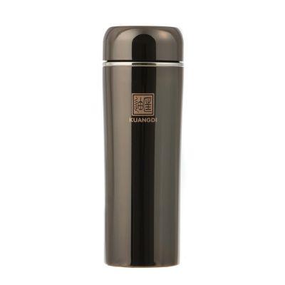 匡迪/华象633号真空钛金学仕双层不锈钢保温杯 送礼会议礼品可定制礼盒