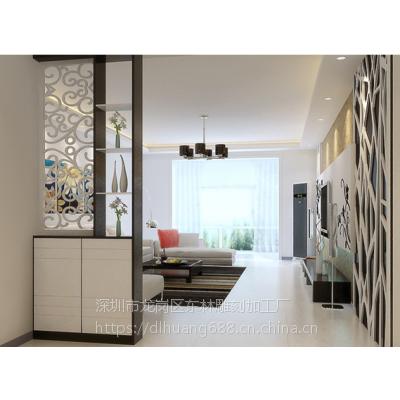 专业定制时尚雕刻通花板镂空板背景墙形象墙波浪板