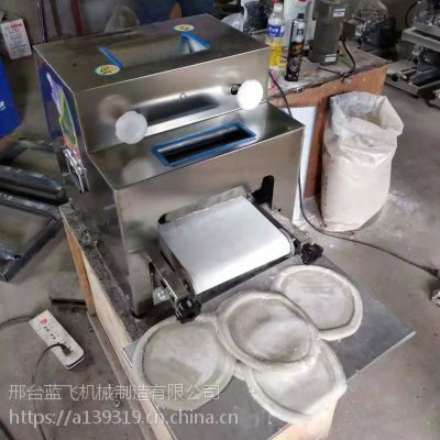 新疆乌鲁木齐200型商用馕饼机 不锈钢制馕机器 新疆大包子机 优质披萨饼机蓝飞厂家热销