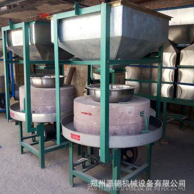 河南有实力的石磨机厂家  纯手工石磨豆腐机 全自动石磨机