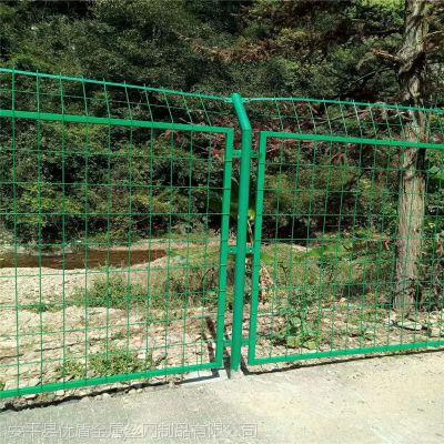 隔离栅栏 九江拘留所浸塑护栏网定制 绿化防抛网 护栏网