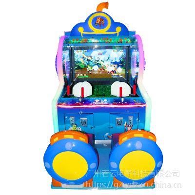新款双人超级射水游戏机 儿童投币射击益智游戏室内大型电玩设备