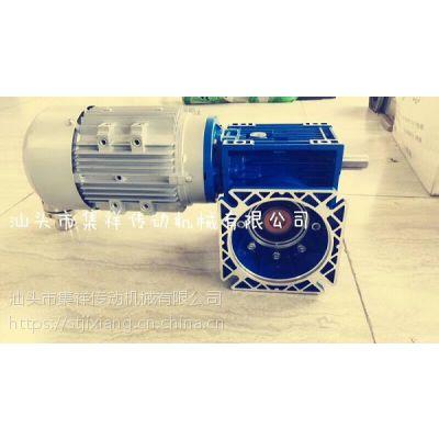 RV减速机配电机组合图