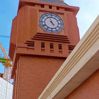 外墙挂钟 室外大钟 建筑塔钟 塔楼大钟 校园文化钟楼大钟