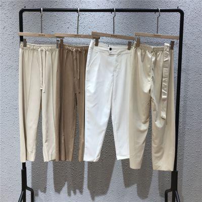 依诗佩品牌19夏季新款女装休闲棉麻货源