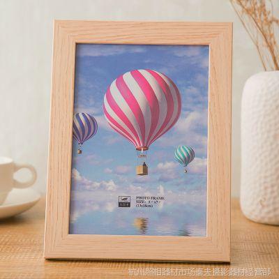 批发木质相框 儿童宝宝天出生证相框6寸7寸相框多款选择厂家供应