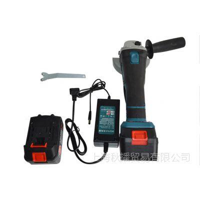 充电角磨机无线锂电角向磨光机金属打磨切割充电式角磨机