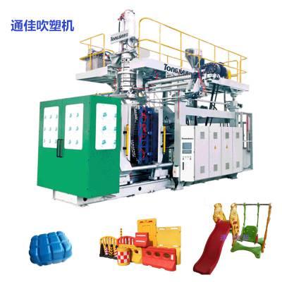 10L桶机器厂家|透析桶专用设备|通佳全自动双工位吹塑机图片