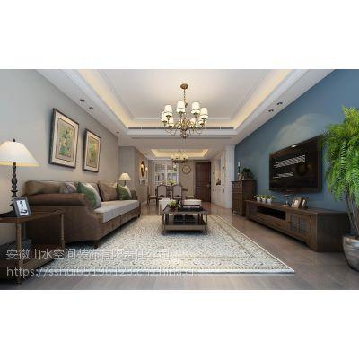 山水装饰集团科大花园160平方欧式风格方案报价效果图分享0551-65196123