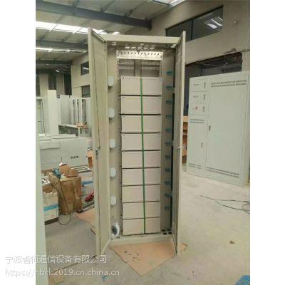 室内落地式720芯直插式光纤配线柜 ODF直插光纤配线架 2米