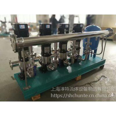 恒压变频供水设备生产厂家/不锈钢全自动二次加压设备