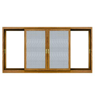 浙江|铝合金推拉窗带纱窗网定制安装|兴发铝业铝合金门窗整套窗