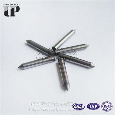 钨钴YG8硬质合金磨尖芯杆 钨钢磨尖圆棒 合金尖芯销 钨钢磨尖小圆柱杆