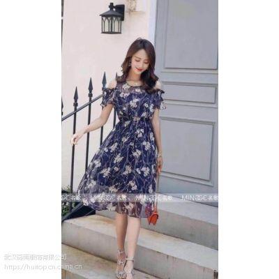 羽纱国际北京现代都市女性休闲风 品牌女装折扣批发潮流小衫