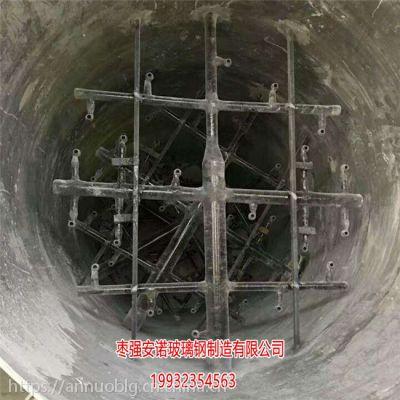 长葛玻璃钢喷淋层厂家批发 吸收塔喷淋层