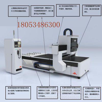 ZY-1325-1四工序全自动数控开料机多工能数控开料机