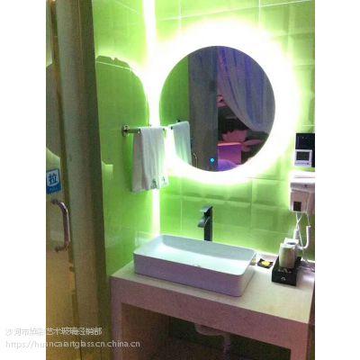 浴室镜led灯镜智能蓝牙音乐高清卫浴镜无框卫生间镜防雾镜子