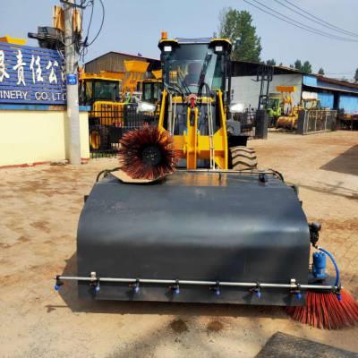 小型扫路机山东中首重工扫路机效率高