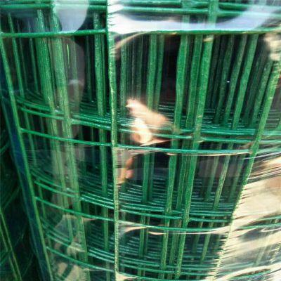 批发养鸡护栏网 优质塑胶皮养鸡铁丝网价格 荷兰网