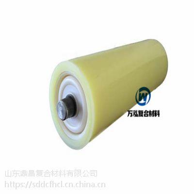 供应槽型调心尼龙托辊 化工设备专用耐腐蚀耐磨尼龙托辊